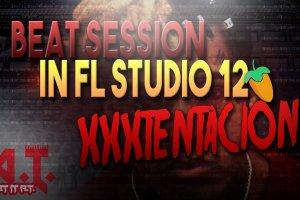 Heavy Dark XXXTENTACION Type Beat Session in FL Studio 12
