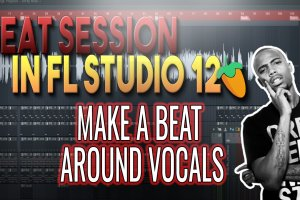 Making A Beat Around Vocals | Beat Session in FL Studio 12 (B.O.B.)