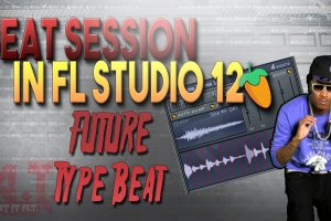 Making A Sample Based Beat For Future in FL Studio 12 [Beat Session]