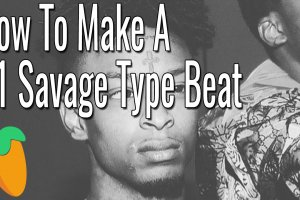 How To Make A 21 Savage Type Beat With ONLY FL Studio