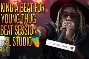 Making A Beat For Young Thug Fast Beat Session