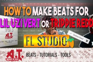 How To Make A Trippie Redd x Lil Uzi Vert Type Beat In FL Studio Breakdown