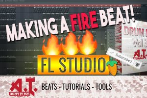 Making A Beat With This Amazing New Drum Kit – AT Drum Kit 3
