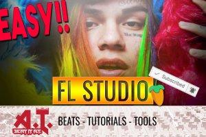 How To Make A Tekashi 6IX9INE Type Beat In FL Studio (EASY!)