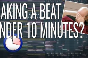 Did I make A Fire Beat In Under 10 Minutes?! [FL Studio 12] – Beat The Clock Challenge