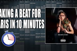 Making A Beat For Paris In 10 Minutes – One Night In Paris
