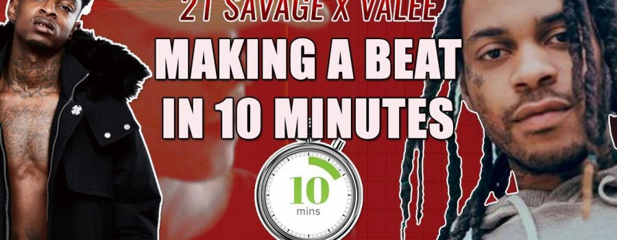 Valee and 21 Savage Beat Made In 10 Minutes?!!‼️😱