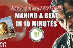 Making A Beat For Travis Scott Astroworld In 10 Minutes??‼️ 🔥👀