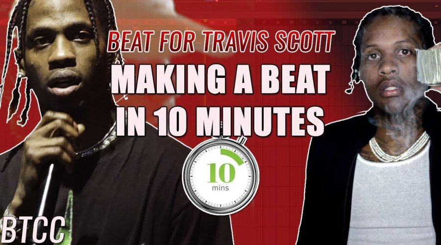 I Worked With Lil Durk?! & Making A Beat In 10 Minutes for Travis Scott!