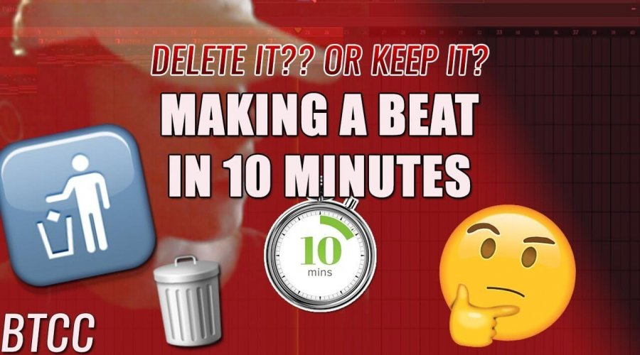 Making A Beat In 10 Minutes! Should I delete this or keep it ?